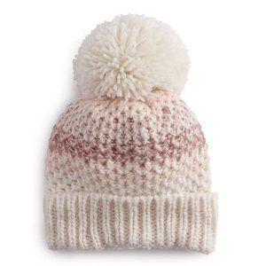 Lauren Conrad Pom Pom Beanie Hat